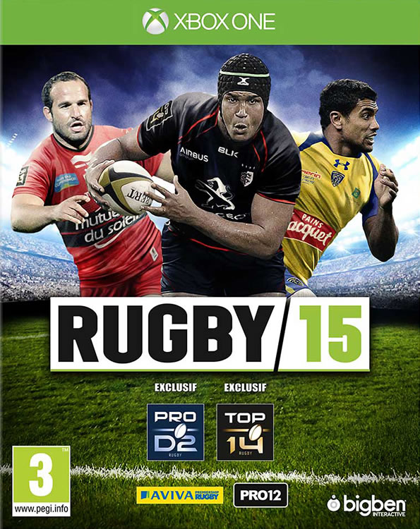 RUGBY 15 Xbox One - Packshot