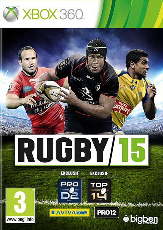 RUGBY 15 Xbox 360 - Packshot