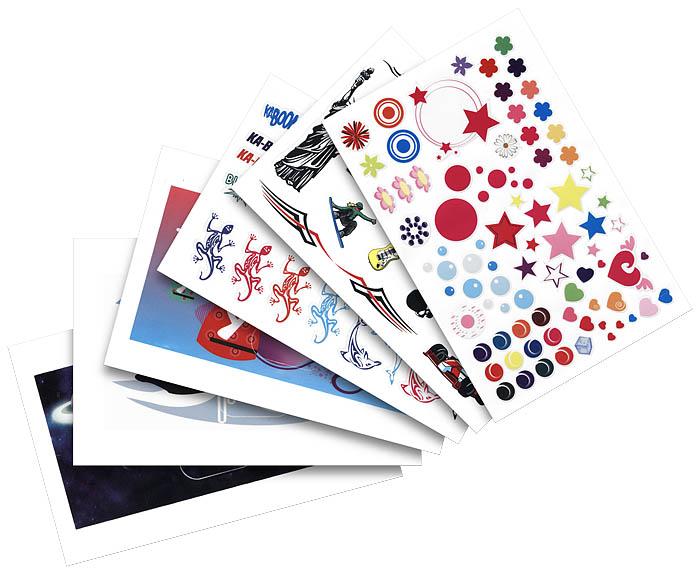 Radio Reveil AM/FM RR30 (Rose + Stickers) - Visuel #3