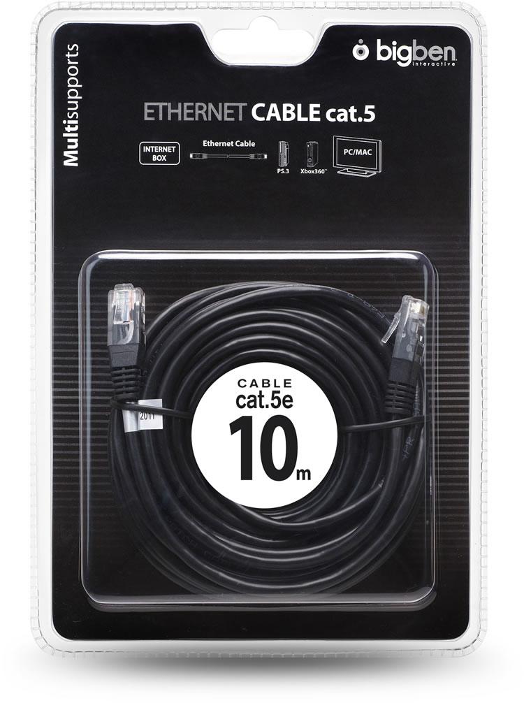 Câble Ethernet (10m) - Visuel
