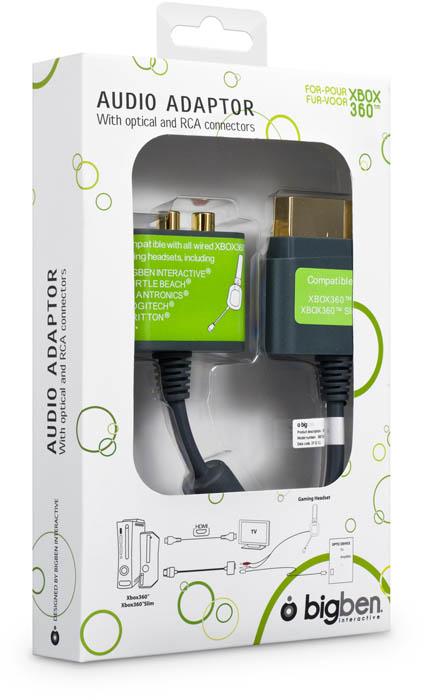 Adaptateur Audio pour Xbox 360® - Visuel