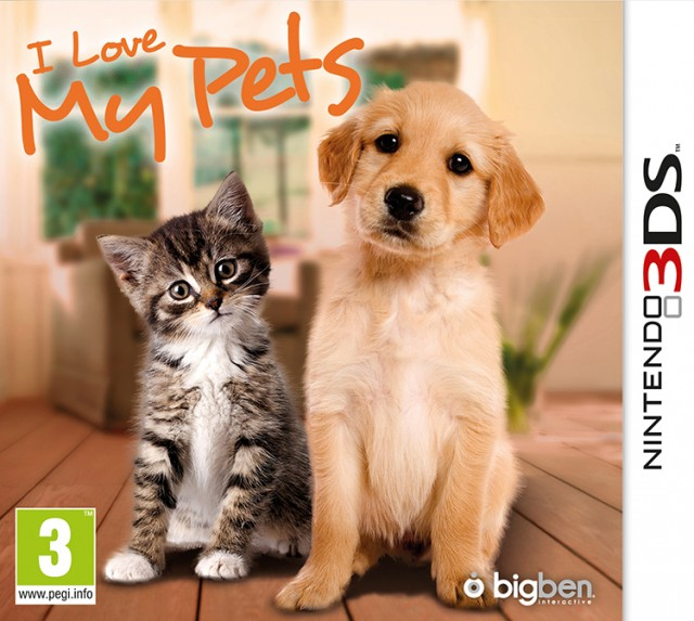 I Love My Pets - Packshot