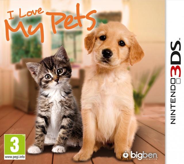 I Love My Pets - Packshot