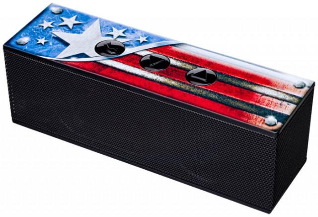 "Enceinte Bluetooth® 2.0 ""Nomad"" USA - Packshot"