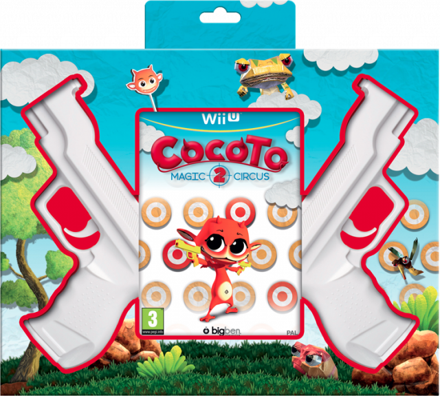 Cocoto Magic Circus 2 (+ 2 Guns) - Packshot