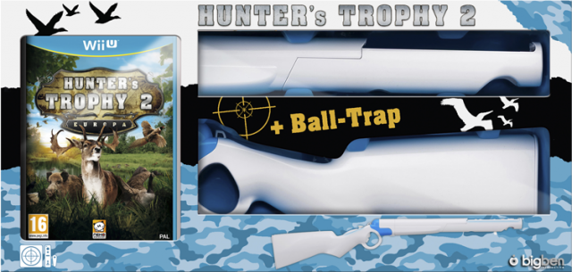 Hunter's Trophy 2 - Europa (+ Fusil) - Packshot