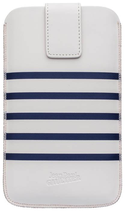 Pouch up Marinière Jean Paul Gaultier (blanc et bleu, taille L) - Packshot