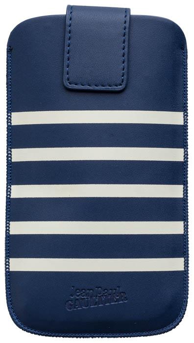 Pouch up Marinière Jean Paul Gaultier (bleu et blanc, taille M) - Packshot