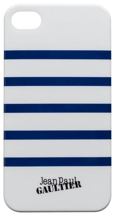 Coque Marinière Jean-Paul Gaultier (blanc & bleu) – Packshot
