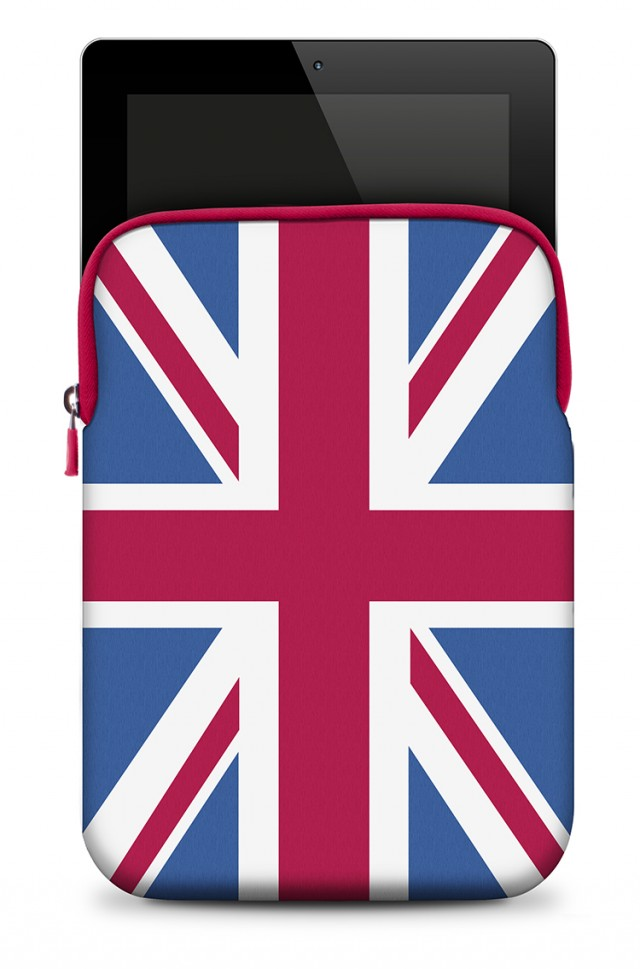 Neoprene Skin | UK Flag - Packshot