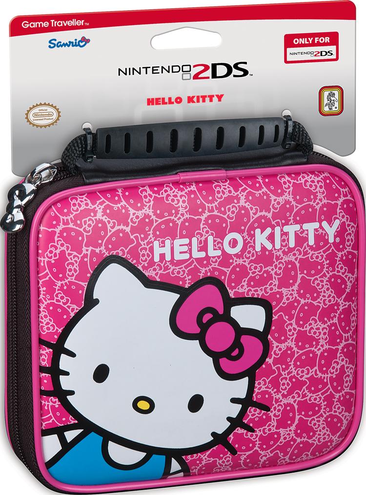 "Sacoche officielle de transport ""Hello Kitty"" - Visuel"