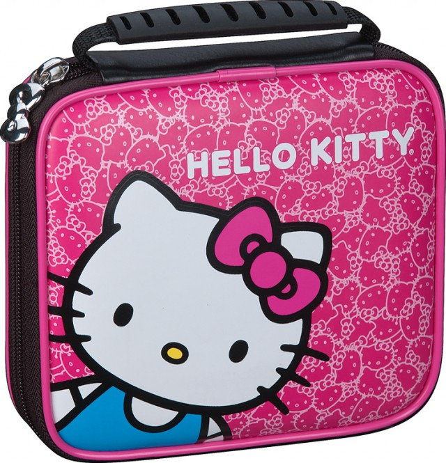 "Sacoche officielle de transport ""Hello Kitty"" - Packshot"