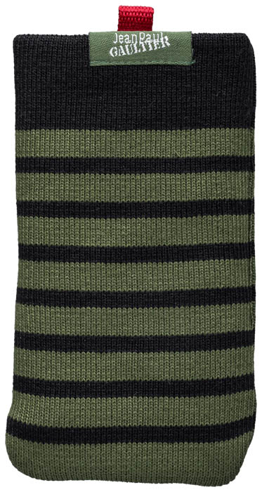 Chaussette Marinière Jean Paul Gaultier (Noir et vert) - Packshot