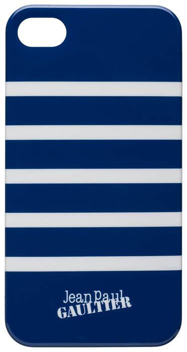 "Jean-Paul Gaultier Coque ""Marinière"" (bleu & blanc) - Packshot"