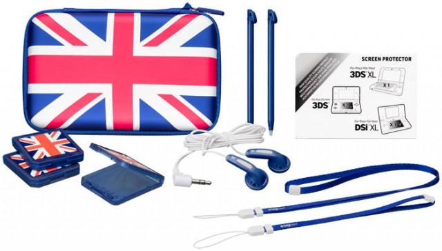 """Pack d'accessoires """"UK Flag"""" - Packshot"""