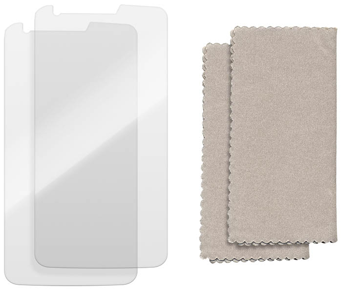 Lot de 2 protège-écrans transparents pour LG G2 - Visuel