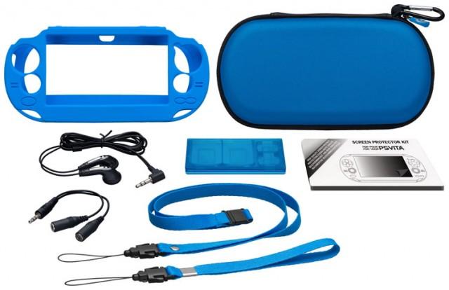 """Pack d'accessoires """"Essential"""" pour PS Vita Slim - Packshot"""