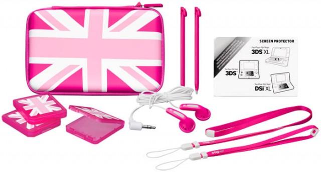 """Pack d'accessoires """"UK Flag"""" (Pink Edition) - Packshot"""