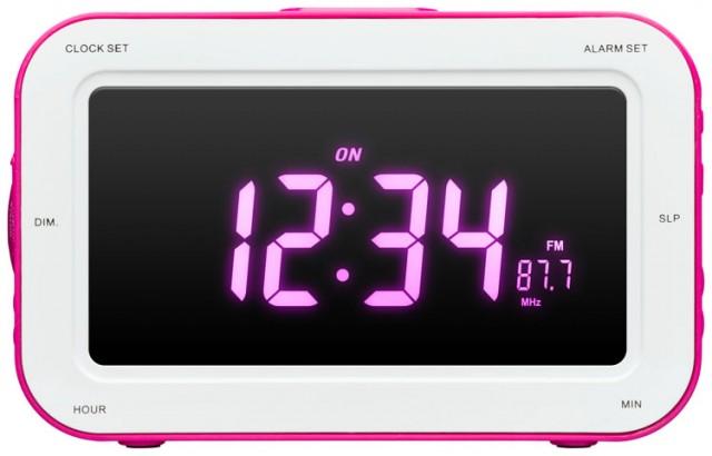 """Radio-réveil avec projection de l'heure """"Fairy"""" - Packshot"""