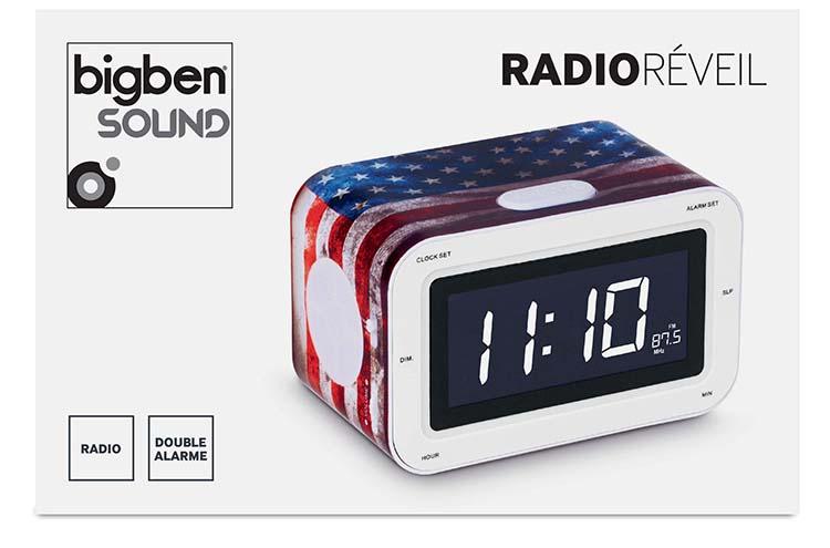 """Radio Réveil """"USA"""" - Visuel"""