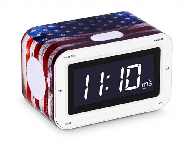 "Radio Réveil ""USA"" - Packshot"