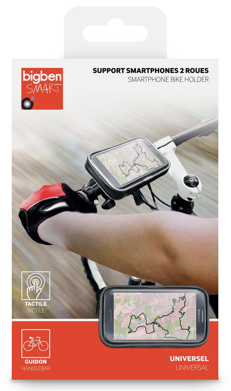 Support Smartphone pour 2 roues - Visuel