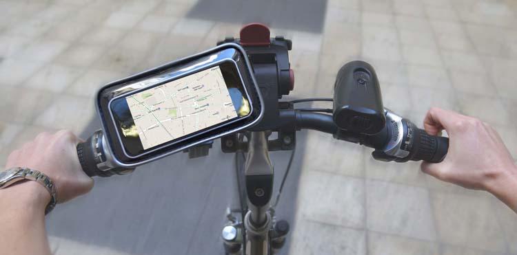 Support Smartphone pour 2 roues - Visuel #1