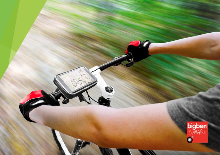 Support Smartphone pour 2 roues - Visuel #2