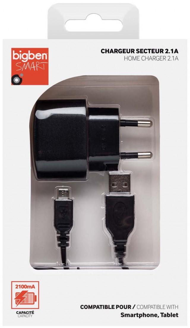 Mini chargeur secteur – Visuel