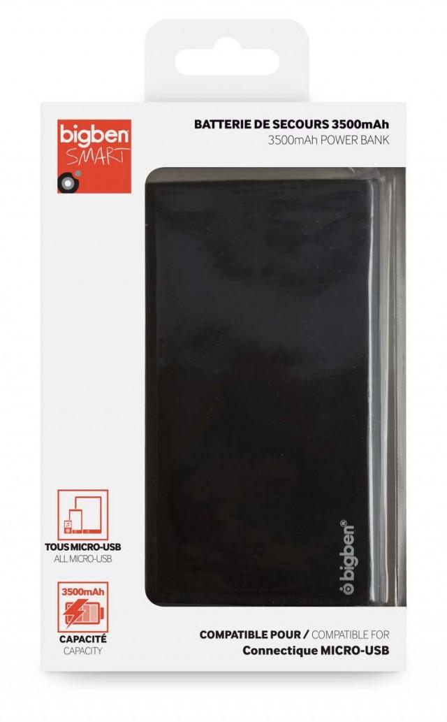 Batterie de secours 3500 mAh (noir) - Packshot