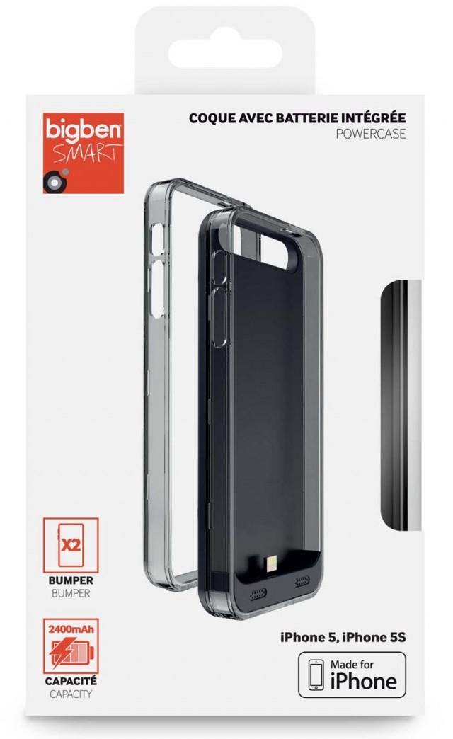 Coque avec batterie intégrée pour iPhone 5/5S – Packshot