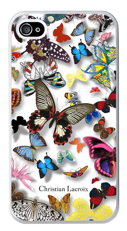 Coque arrière Christian Lacroix « Butterfly Parade » (Opalin) – Packshot