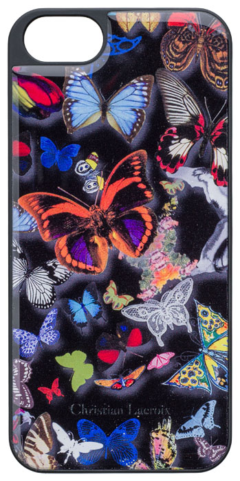Coque Butterfly Parade de Christian Lacroix pour iPhone 5/5S (Oscuro) - Packshot