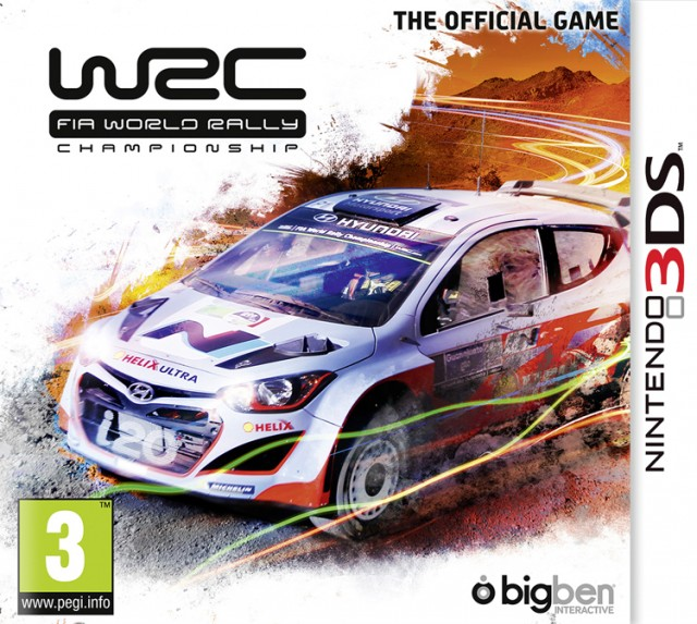 WRC – The Official Videogame – Packshot