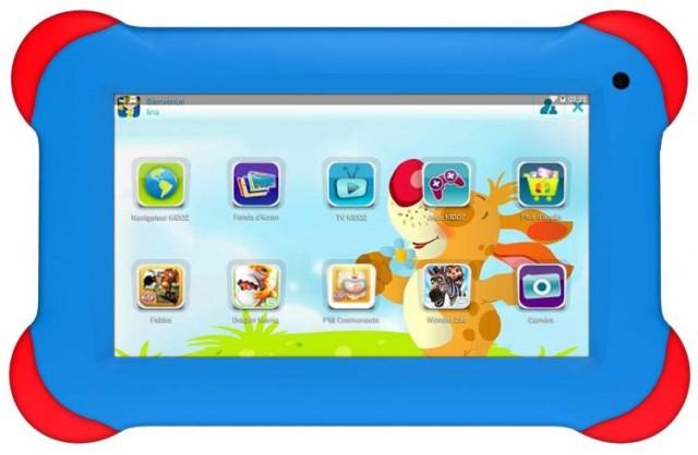 """Tablette 7"""" """"Kids Tablet"""" - Packshot"""