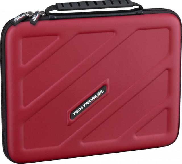 Sacoche de transport pour tablette (Rouge) - Packshot