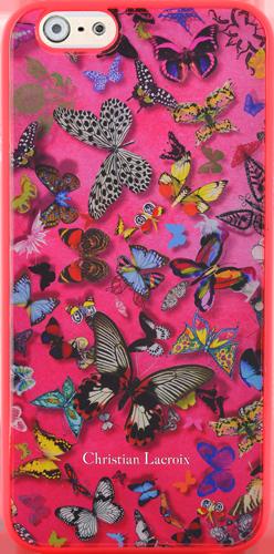 Coque arrière Christian Lacroix « Butterfly Parade » (Grenadine) – Packshot