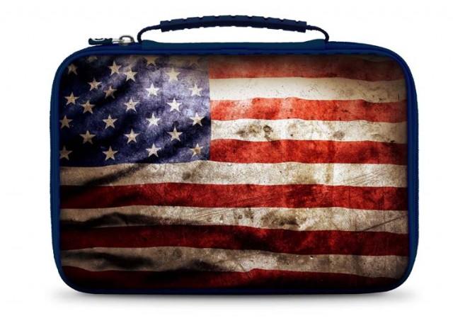"""Sacoche de transport pour tablette """"USA"""" - Packshot"""