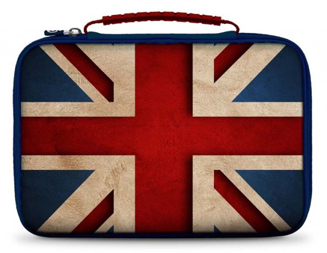 "Sacoche de transport pour tablette ""Union Jack"" - Packshot"