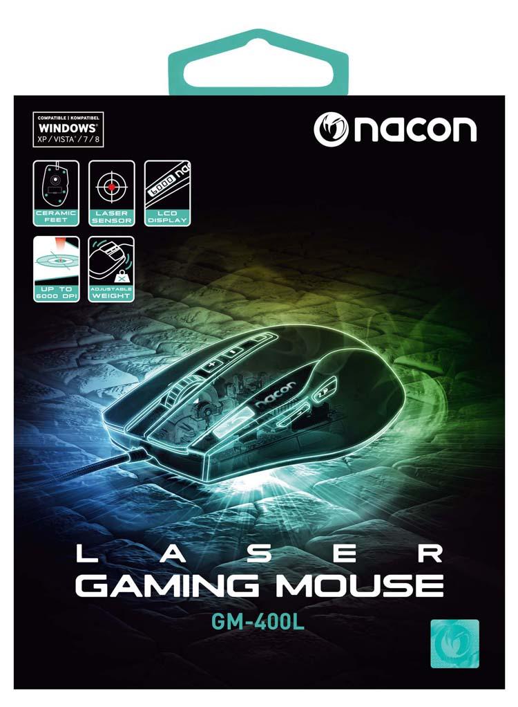 Souris laser NACON - Visuel