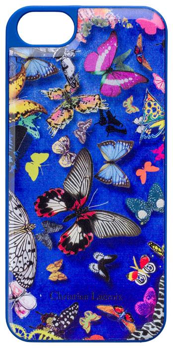 Coque arrière Christian Lacroix « Butterfly Parade » (Cobalt) – Packshot
