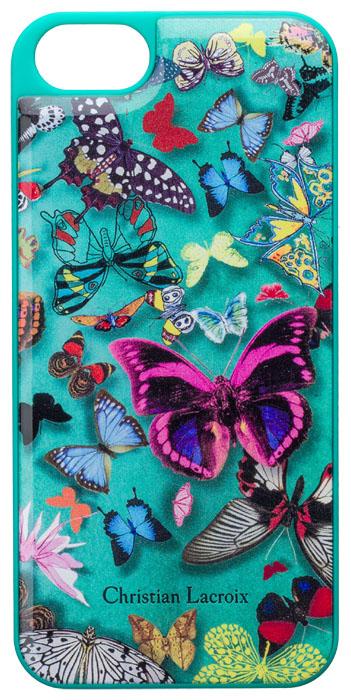 Coque arrière Christian Lacroix « Butterfly Parade » (Emeraude) - Packshot