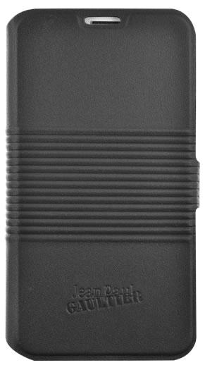 "Jean-Paul Gautier Etui folio ""Boîte de conserve"" (noir) - Packshot"