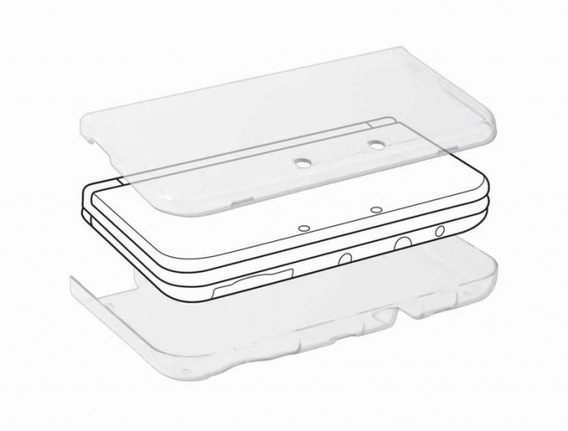 Coque rigide de protection pour Nintendo New 3DS XL - Packshot
