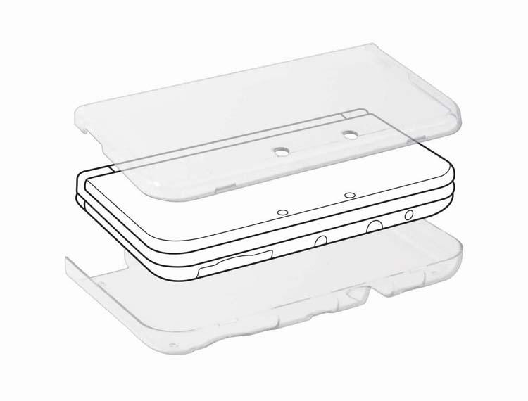 Coque rigide de protection pour Nintendo New 3DS XL - Packshot