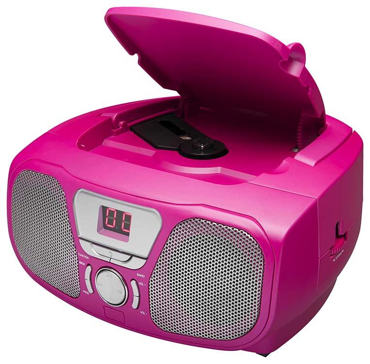Boombox CD46 «Kidzy» (Frozen Raspberry) – Visuel #2