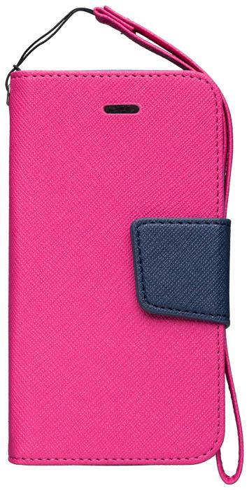 Etui à rabat rose et noir – Packshot