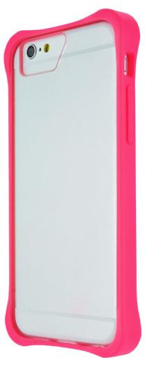 Bumper avec plaque transparente (Rose) – Packshot