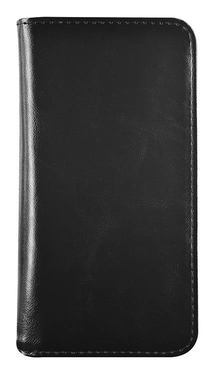 Coque magnétique avec rabat détachable (Noire) – Packshot