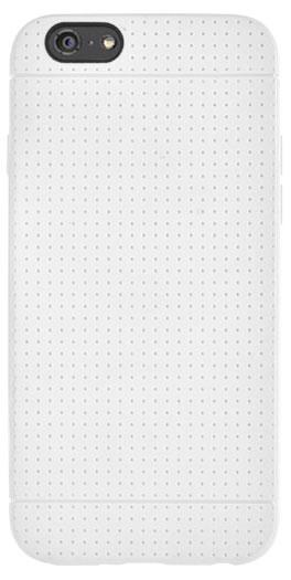 Coque en silicone micro perforée (Blanche) – Packshot